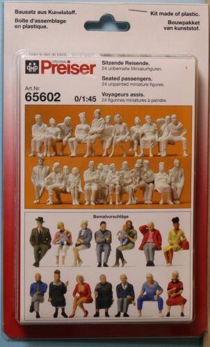 Preiser 65602 sentado viajeros 1:45