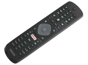 Genuine-Philips-Remote-Control-For-FHD-UHD-LED-4k-Smart-TV-039-s-with-Netflix-Button