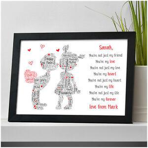 Image Is Loading Personalised Boyfriend Girlfriend Husband Wife Gifts Birthday Christmas