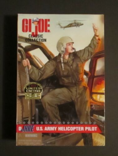Hasbro GI Joe Classic Collection G.I JANE U.S Army Helicopter Pilot Negro MIB