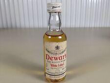 Mignonnette mini bottle non ouverte whisky dewar's