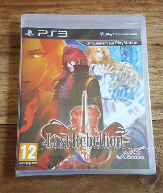 LAST REBELLION Jeu Sur Sony PS3 Playstation 3 Neuf Sous Blister VF