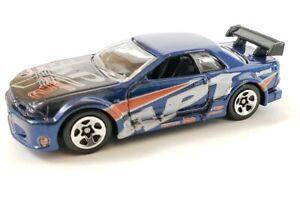 1999-2002 NISSAN SKYLINE GTR R34 RARE 1:64 SCALE COLLECTIBLE DIECAST MODEL CAR