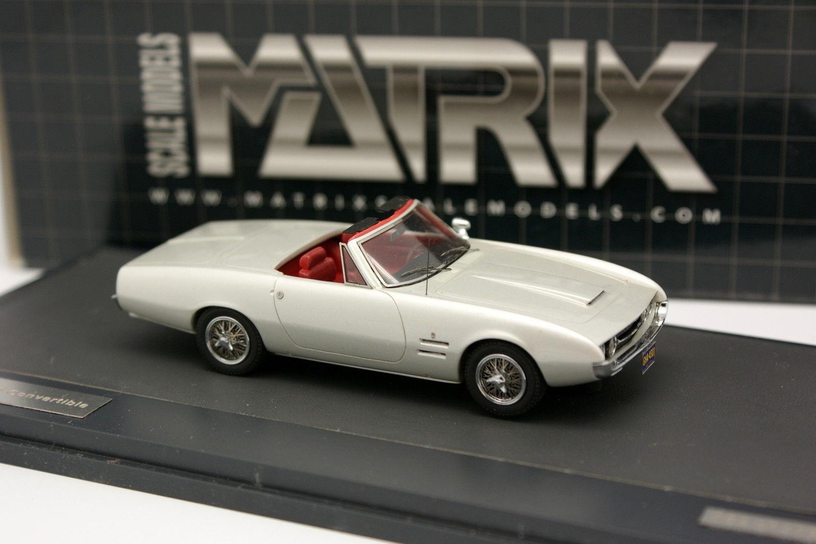 Matrix 1   43 - ghia 450 ss cabrio grigia 1966
