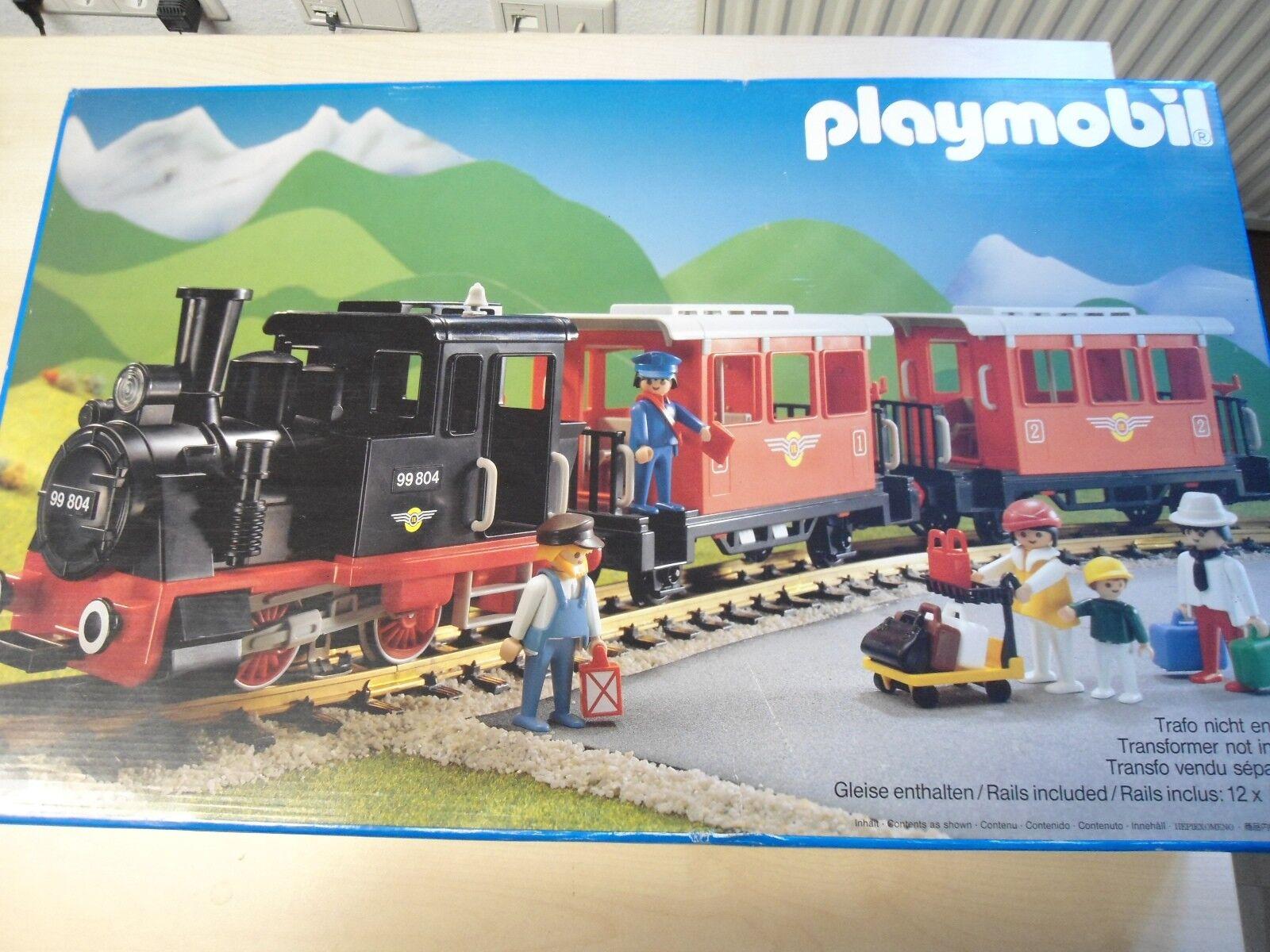 Playmobil Set Eisenbahn Zug 4001  Nostalgiezug   gebraucht
