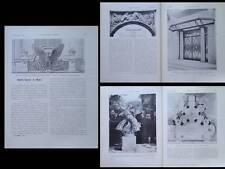 CONSTRUCTION MODERNE 1925 PAVILLON ARCHITECTES, TOURNON, SUBES, CHARLES GARNIER
