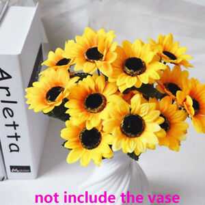 bouquet-mariage-de-decoration-fleurs-artificielles-tournesol-de-plastique