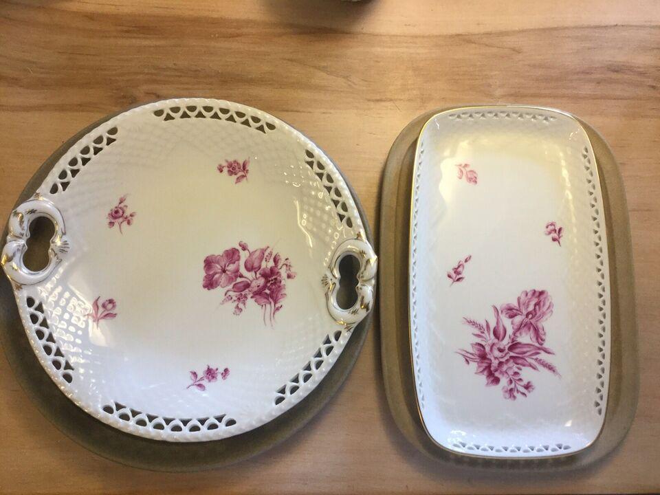 Porcelæn, Fade mm, Bing og Grøndahl