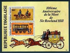 TOGO - 1979 - Centenario della morte di Rowland Hill