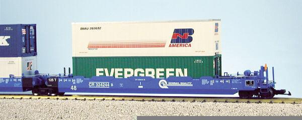 USA Trains G G G Scale Intermodal 5 Unit Articulated Set R17158 Conrail (No Containe c4863a