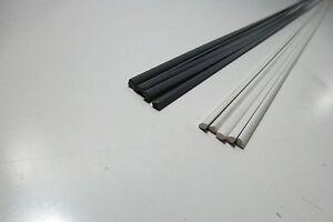 flat shape pack of 30 pcs PP Plastic welding rods 6mm blue