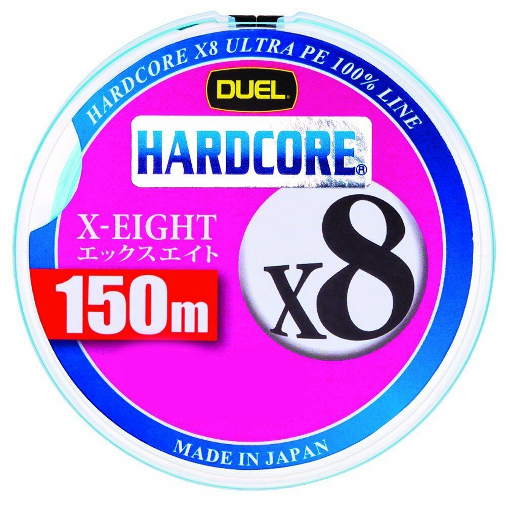 Duel Hardcore X8 150m 5.9kg 7.3kg 9.1kg kg 12.2kg 13.6kg 13.6kg 12.2kg Prodotto in Giappone a28ccd