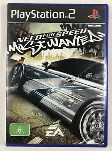 Need For Speed Most Wanted Black Edition Ps2 Pal With Manual 5030941049191 Ebay