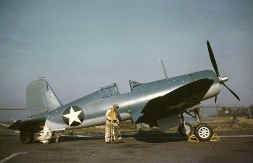 "Butby from the F4U-1 /""Corsair/"" fighter  95e WWII photo Test pilot Willard B"