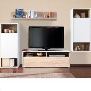 Parete attrezzata mobile tv soggiorno mobile salotto for Parete attrezzata design moderno