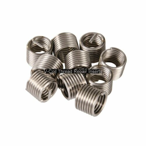 V-Coil Wire Thread Repair Inserts for 3//8 UNC 1.5D 10 off