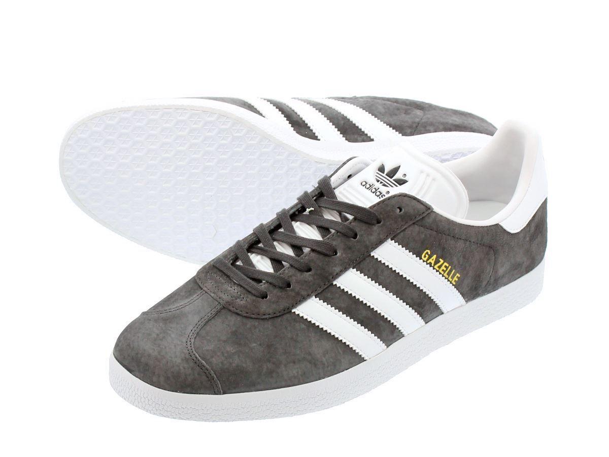Adidas Originals Mens Gazelle Trainers Dark grau (BB5480)