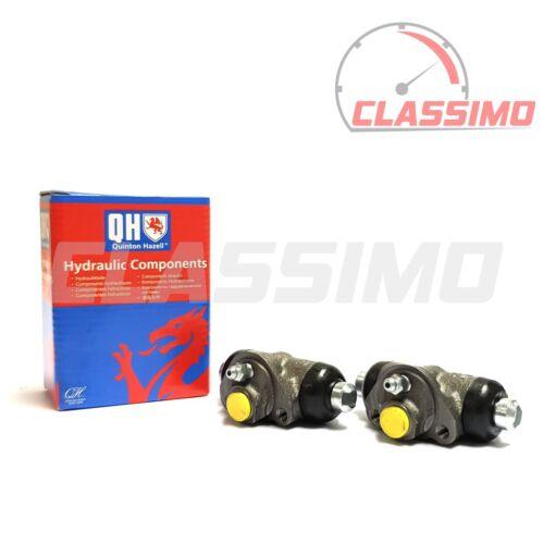 Rear Brake Wheel Cylinder Pair for FIAT CINQUECENTO Quinton Hazell