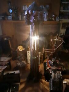 Belle Saguaro Cactus Bois 5 FT (environ 1.52 m) Lampe one of a kind ** facultatif Bois Flotté Abat-jour *