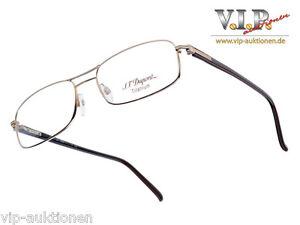 S.t.dupont Lunette Brille Brillenfassung Glasses Eyeglasses Frame Occhiali -Neu- tJzNzRFkHS