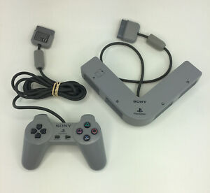 Sony-Playstation-1-ps1-Multitap-SCPH-1070-4-Spieler-Adapter-SCPH-1080-Controller