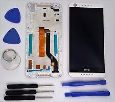 HTC Desire 626G Dual Sim Komplette LCD Display Einheit Touch Screen Rahmen Weiß