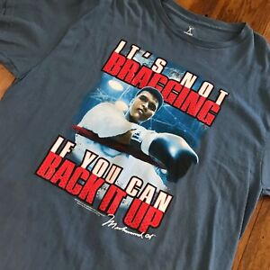 Muhammad-Ali-T-Shirt-Tee-AUTHENTIC-XL