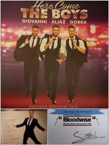 GORKA-MARQUEZ-Strictly-Come-Dancing-AUTOGRAPH-CARD-amp-TOUR-BROCHURE-CHARITY