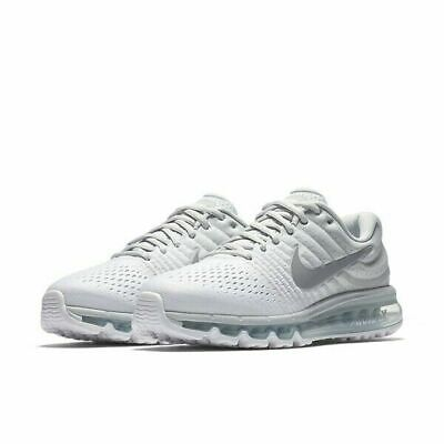 Nike Women's Air Max 2017 Running Shoes Pure Platinum White Gray 849560 009 NEW | eBay