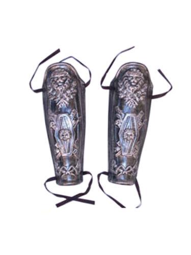 COPPIA GAMBA saver romani accessori antichi degli armamenti