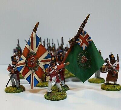 28mm Anteriore Rango Personaggi British Peninsulare Fanteria - Charles S Grant Vendite Economiche