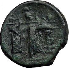 THESSALIAN LEAGUE Larissa Greek Coin ATHENA Magic APOLLO Healer God   i33519