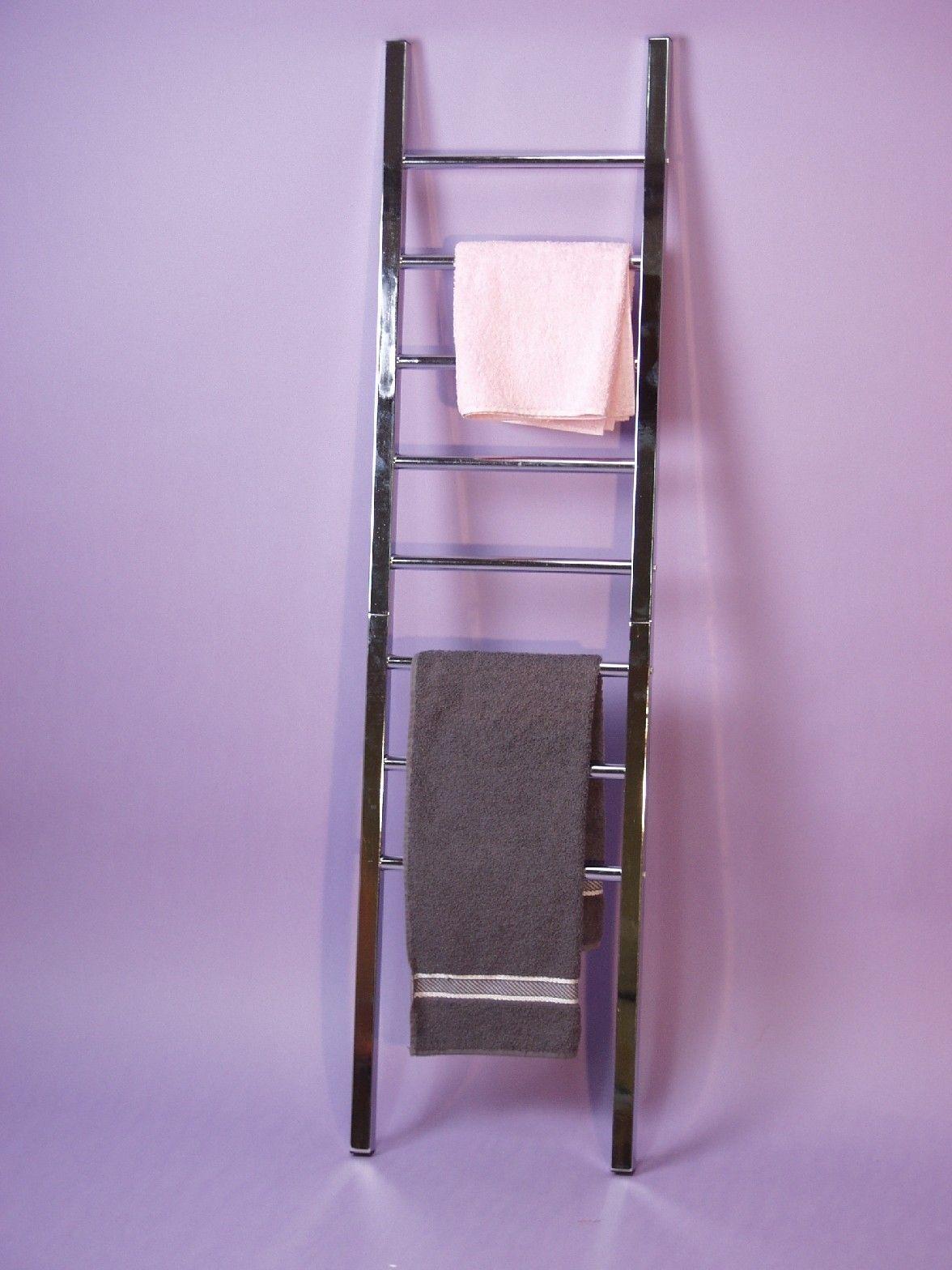 Handtuchhalter Metall Chrom Handtuchständer Handtuchleiter preiswert günstig