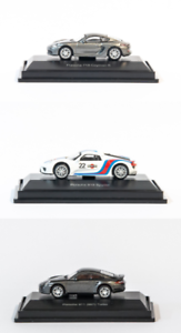 918 Martini Schuco  1:87 H0 Porsche 3er Set Cayman 911 Turbo