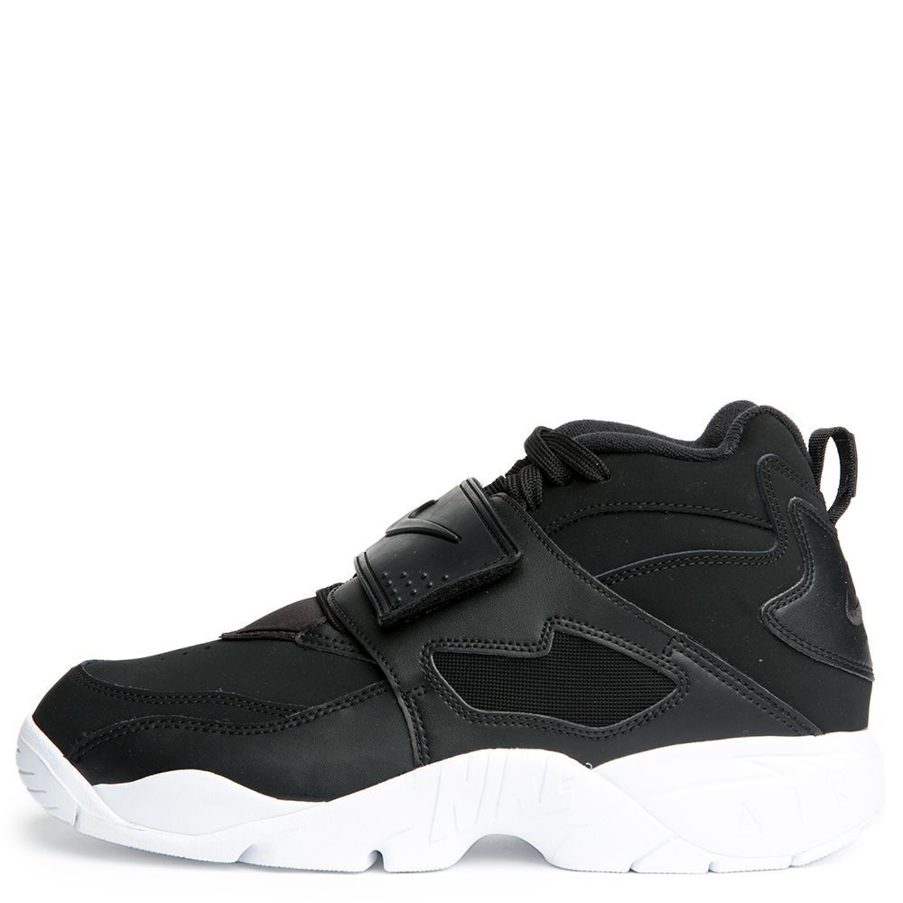 New Nike Men's Air Diamond Turf Deion Sanders Shoes (309434-014)  Black//White