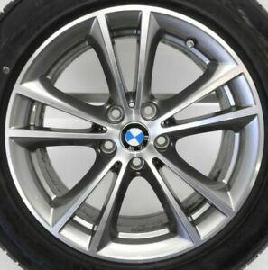 REIFEN-NEU-Original-BMW-5er-G30-G31-Winterraeder-V-Speiche-631-Ferricgrey-RDC