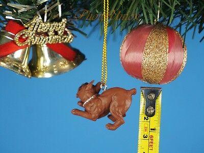 Hood Hounds Phantom Pit Bull Dog Decoration Xmas Tree Ornament Home Decor 1285A8