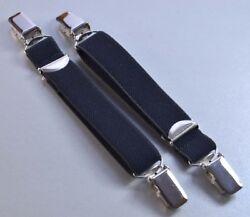 Kompressionsstrumpf Halter 2cm breit mit beidseitig Hosenträgerclip