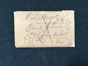 Stampless Entire 1845 Jul 19 Camden NY to Troy Lans plan?