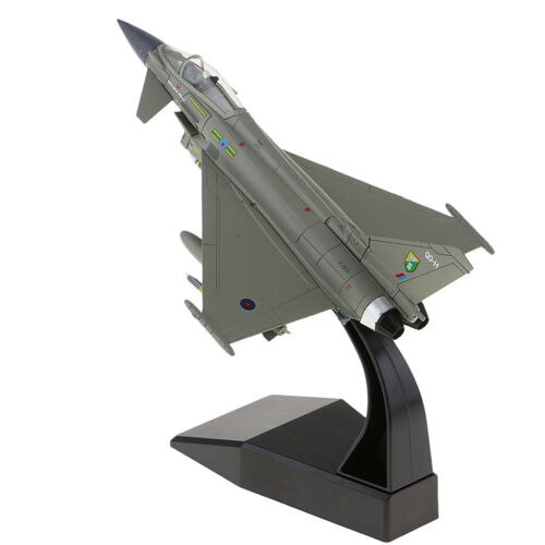 1:100th EF-2000 Eurofighter Typhoon Military Fighter Diecast Aviation Aircraft