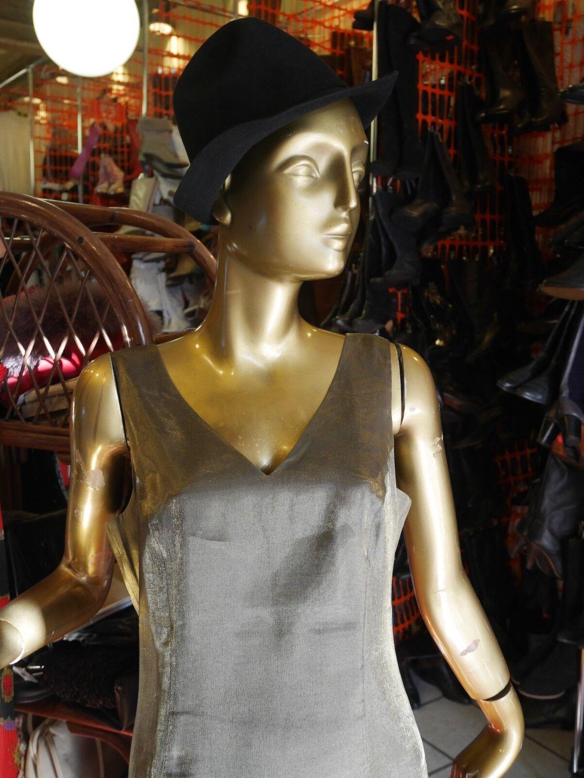 Cm Cm Cm BY PABST Minikleid S metallic 90er Kleid Disco gold TRUE VINTAGE 90s party bce20d