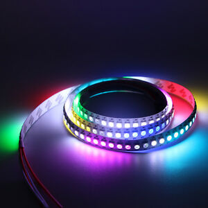 Ws2812 ws2812b led strip light rgb 5050 full color addressable image is loading ws2812 ws2812b led strip light rgb 5050 full aloadofball Gallery