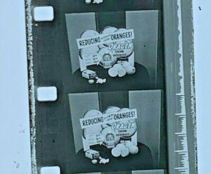 Advertising 16mm Film Reel - ORAGEN Consumer Drug Corporation Reduce Oranges C03