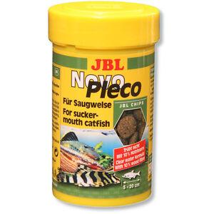 JBL-NovoPleco-250ml-Novo-Pleco-schede-nell-039-imballaggio-originale-pesce-gatto-alghe-CIALDE