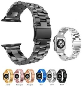 For Apple Watch Series 3 2 1 Stainless Steel Wrist Iwatch Band Strap 38 42mm Us Ebay