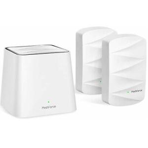 Meshforce M3 3 Pack Mesh WiFi System Wifi Mesh Router for Wireless Internet