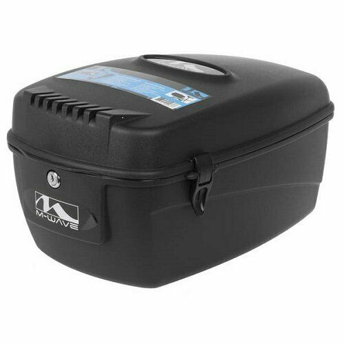 M Wave Amsterdam Easy Bicycle Top Case Small Black