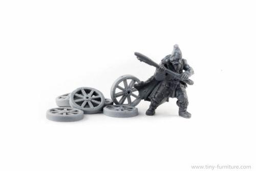 Malifaux dungeon terrain D/&D Wagon wheels 15mm Frostgrave rpg scenery