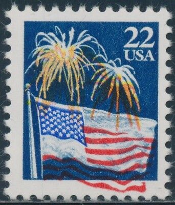 "#2276 Var. ""fireworks"" Issue Major Color Shift Downward Error Bs7898"