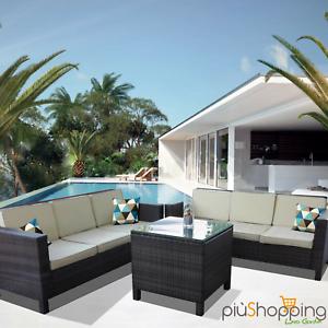 wohnzimmer rattan set garten externe sofa m bel korbweide. Black Bedroom Furniture Sets. Home Design Ideas